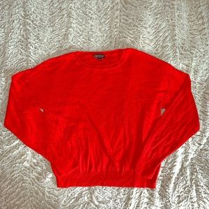 Topshop Red Sweater